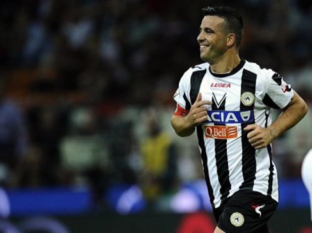 Udinese beat Palermo to keep pressure on Juve