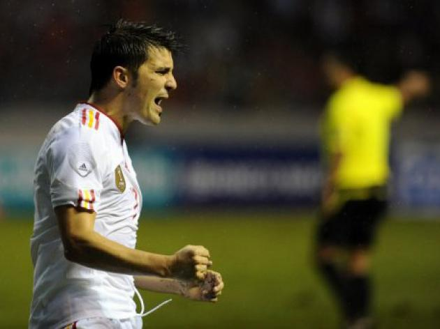 Spain salvage draw in Costa Rica friendly