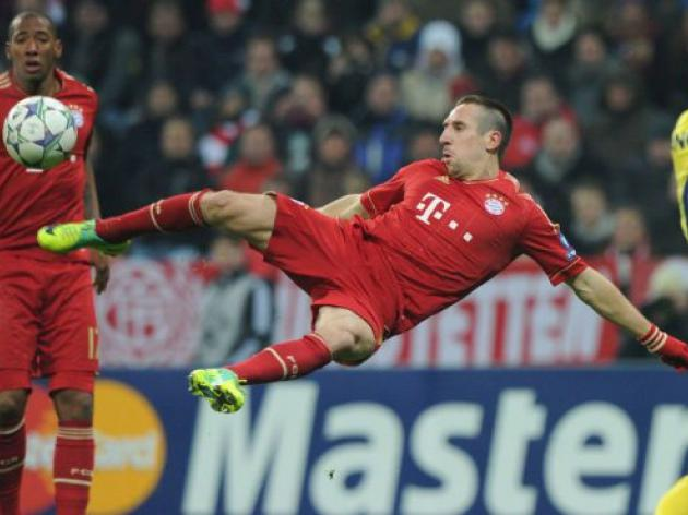 Bayern's Ribery targets 4 wins, starting at Mainz