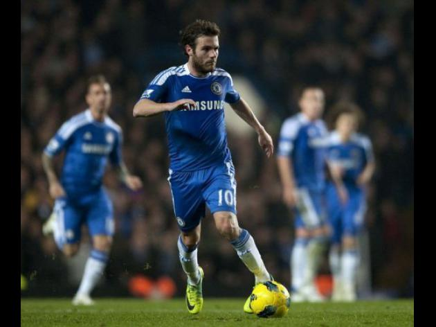 Marvellous Mata lifts Chelsea's spirits