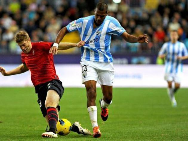 Misfiring Malaga salvage draw against Osasuna