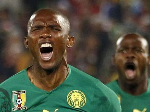 Cameroon ban captain Eto'o for 15 matches