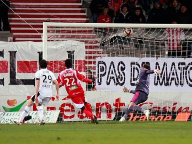 Rennes sink deeper with defeat at Ajaccio