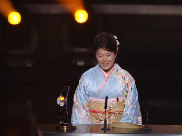 Japan hails women's world football player of the year