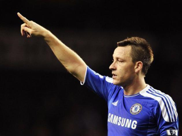 Chelsea's Terry happy to be centre of attention