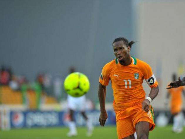 Drogba saves Ivory Coast blushes