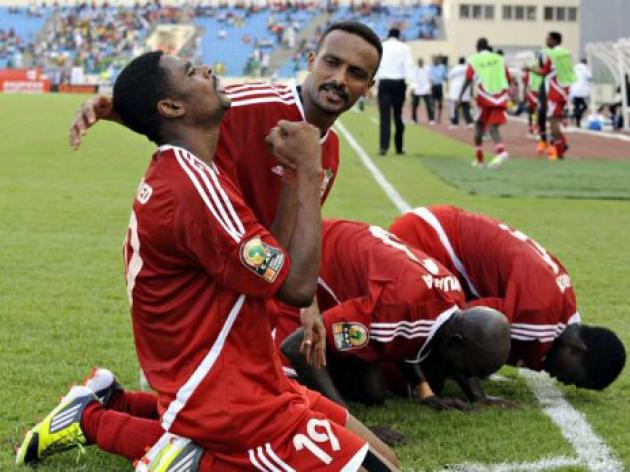 Sudan end goal drought to hold Angola