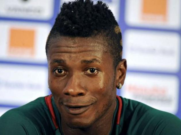 Gyan limps out of Ghana training