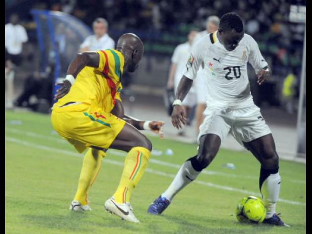 Gyan stars as Ghana defeat Mali