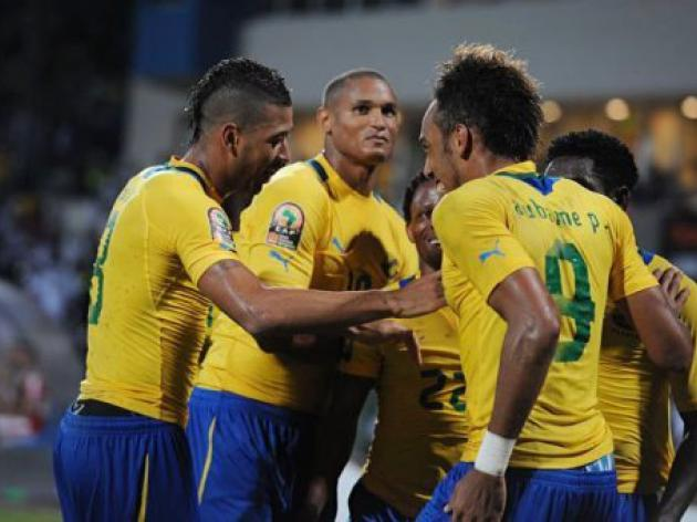 Perfect Gabon top table after beating Tunisia