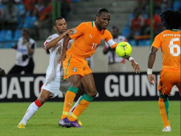 Drogba strikes twice as Ivory Coast reach semis