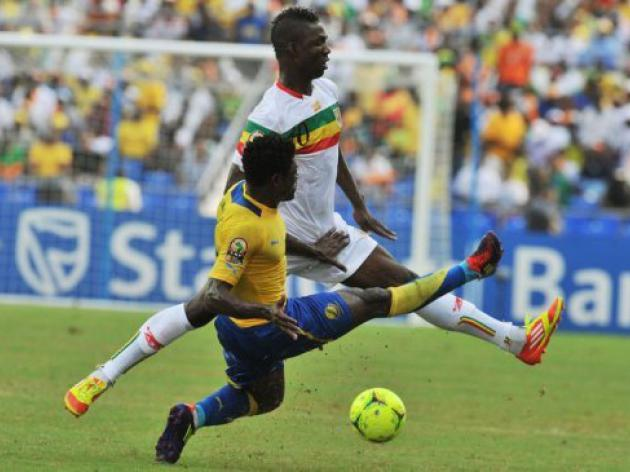 Keita spot on as Mali ruin Gabon's Cup party