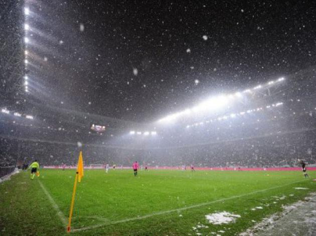 Two Serie A games called off due to snow