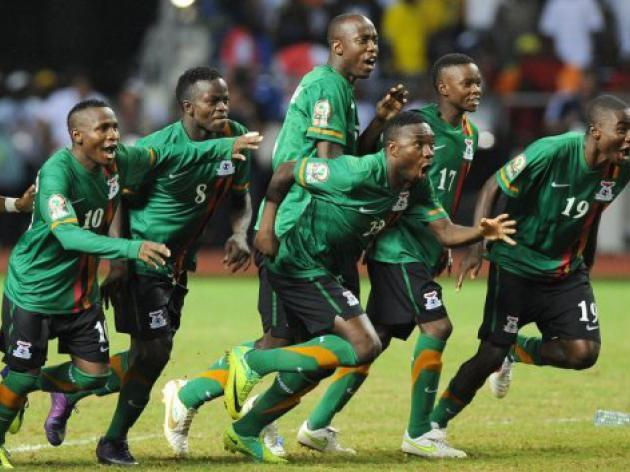 African football champs Zambia face Sudan, Ghana again