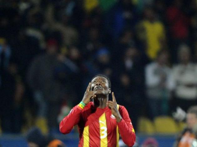 'Abused' Gyan takes international break
