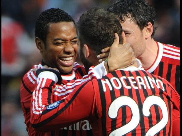AC Milan flying calmly as Juve unravel in Serie A