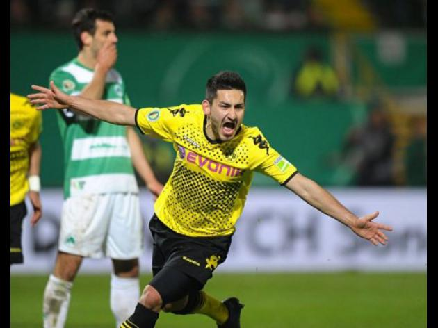 Late Gundogan strike fires Dortmund into cup final