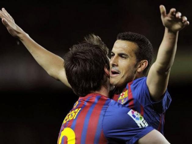 Barcelona pile pressure on Real with Getafe romp