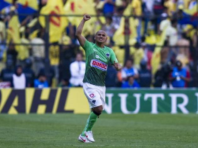 Suazo brace gives Monterrey first-leg CONCACAF win