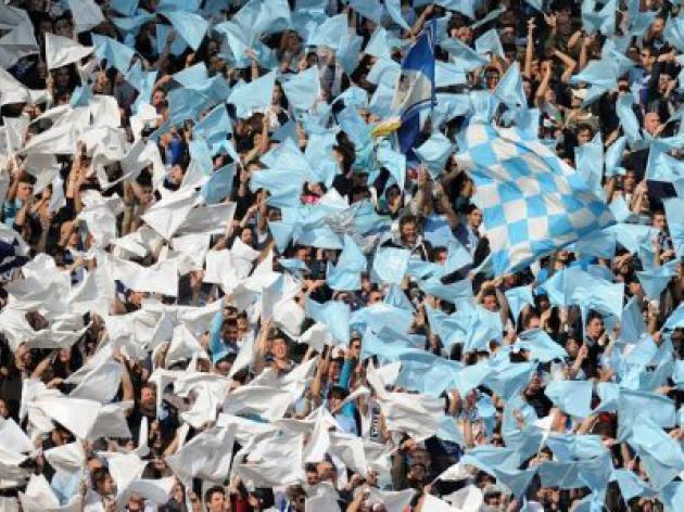 Lazio fans make anti-semitic chants