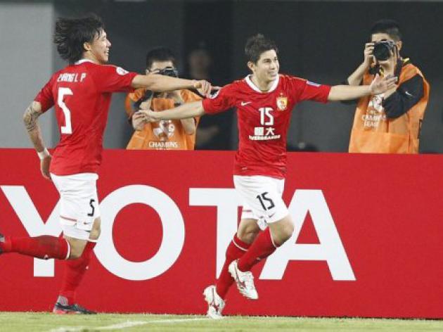 China's Guangzhou eye Asian knock-outs