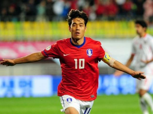 South Korea drop Arsenal striker Park Chu-Young
