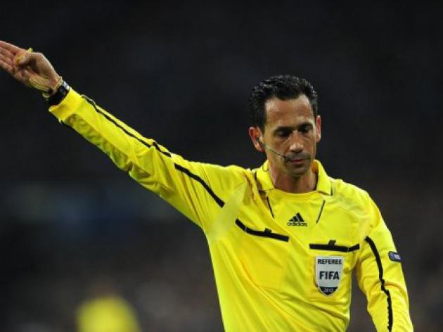 UEFA announces Champions League referee