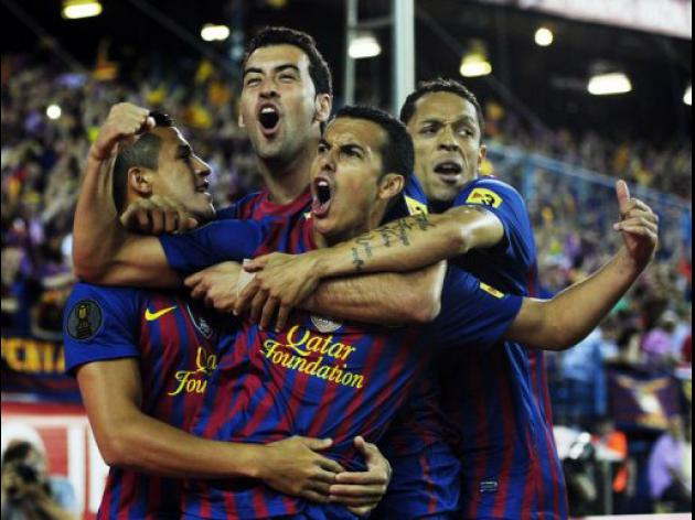 Barca give Guardiola perfect Cup send off