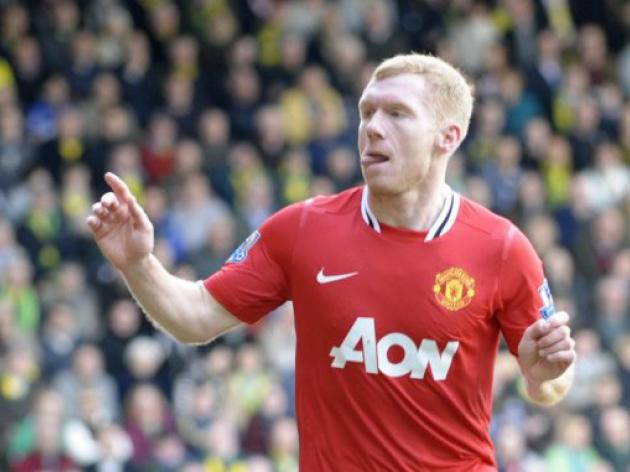 United confirm Scholes' one-year deal