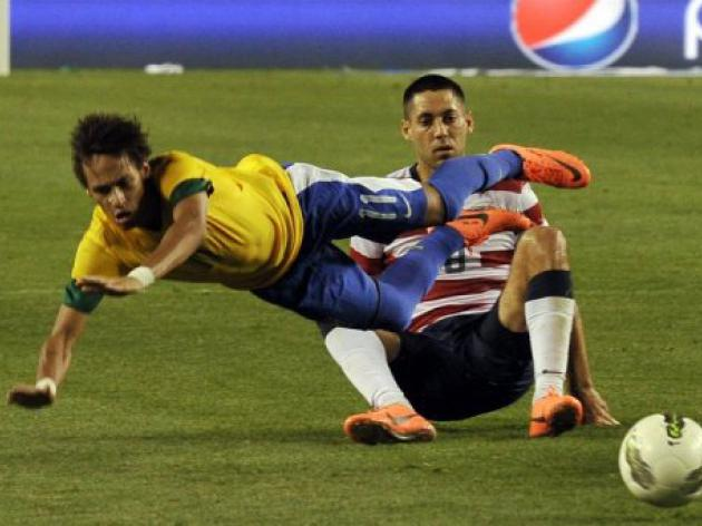 Neymar powers Brazil over host US