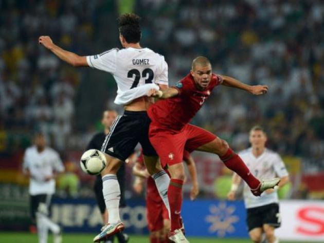 Germans, Portuguese goalless at half-time