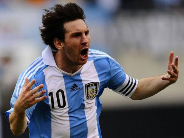 Messi's hat trick lifts Argentina over Brazil
