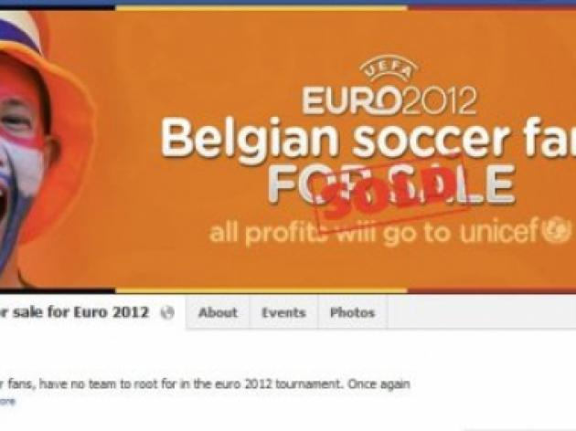 Belgian Euro 2012 fans'bought' at auction - by the Dutch