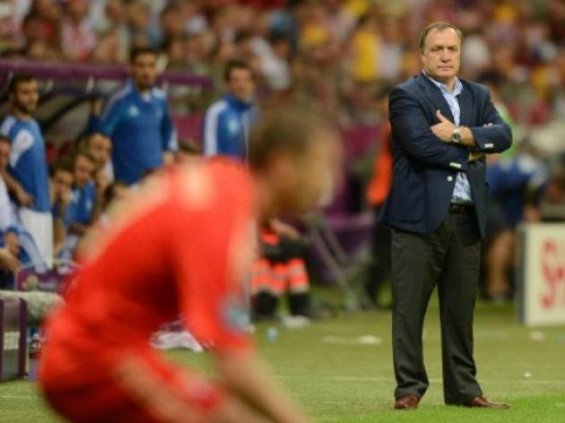 Russia vents anger at defeated team and manager