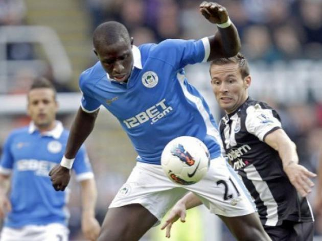 West Ham agree deal for Wigan's Diame