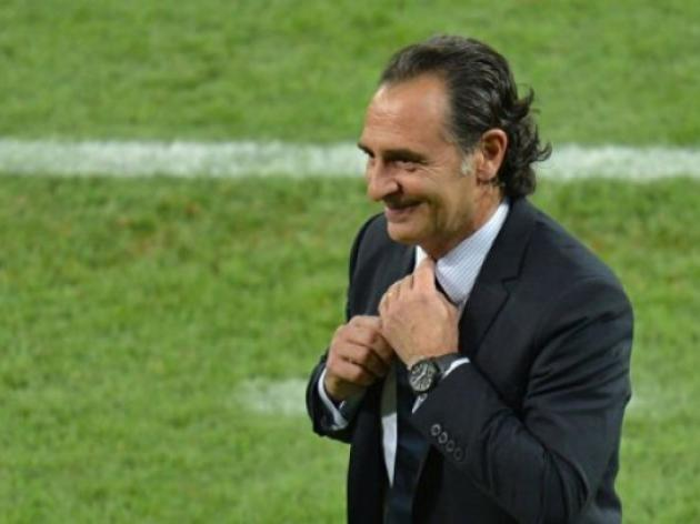Prandelli admits luck played a part