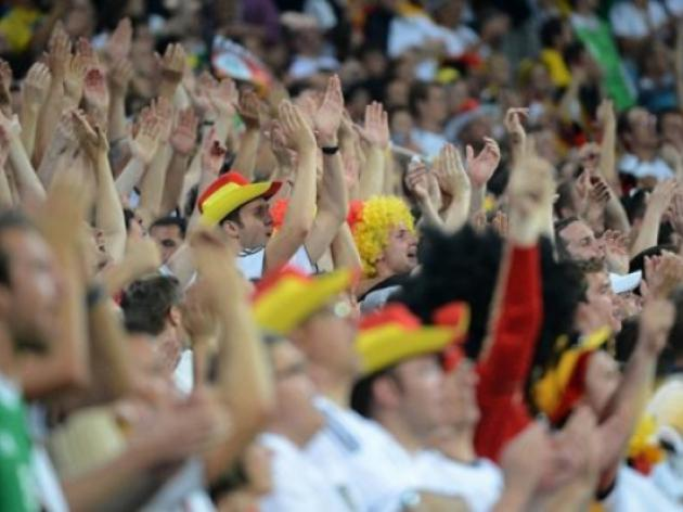 Germany fined 25,000 euros for unruly fans