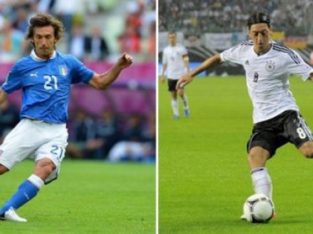 Pirlo says Germany afraid of Italy