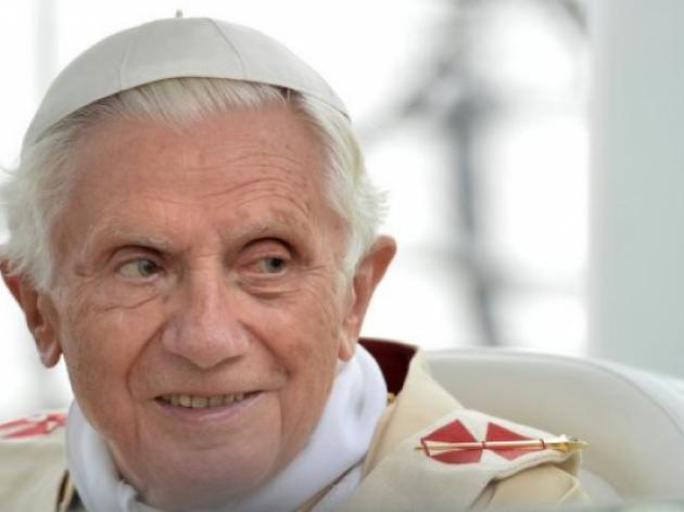 Pope Benedict graceful in defeat