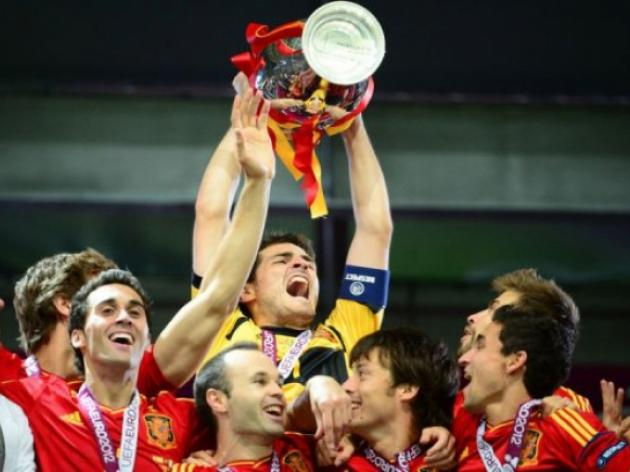 Spanish magnificent seven savour third trophy