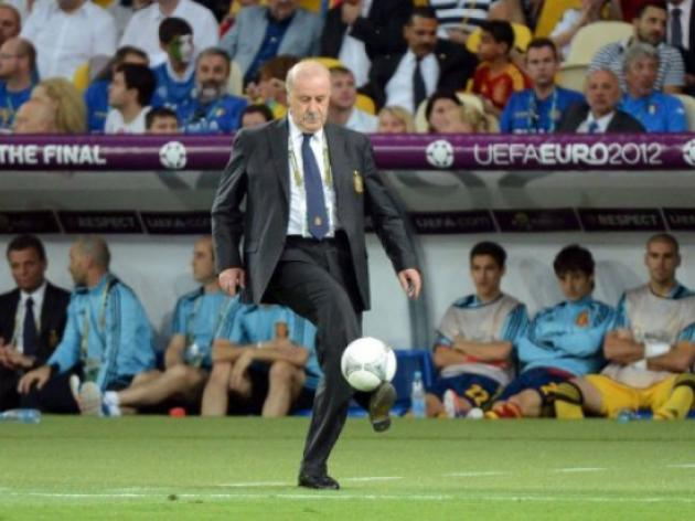 Del Bosque lauds Spain's gilded generation