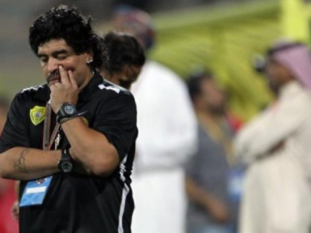 Maradona sacked as Al Wasl coach