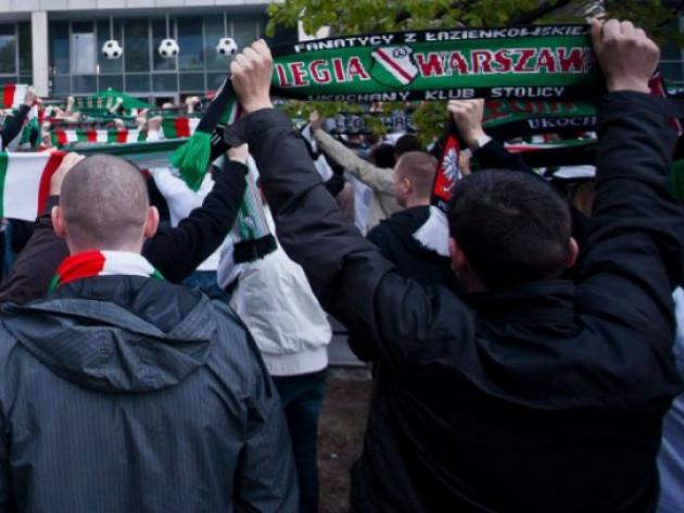 Lithuania detains Latvia-bound Polish hooligans