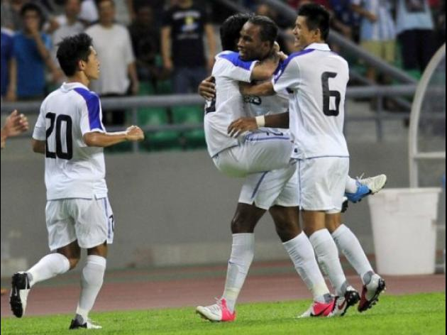 Drogba makes instant impact for Shanghai Shenhua