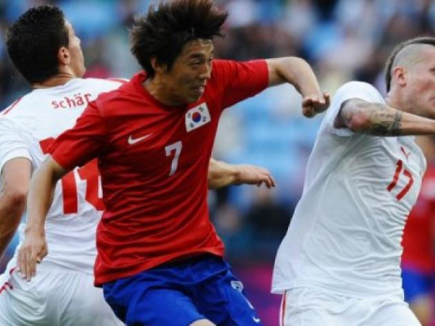 Swiss footballer wins sympathy in S. Korea
