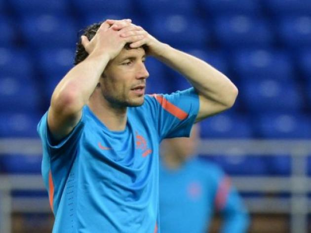 Van Bommel, Bouma out for Dutch friendly
