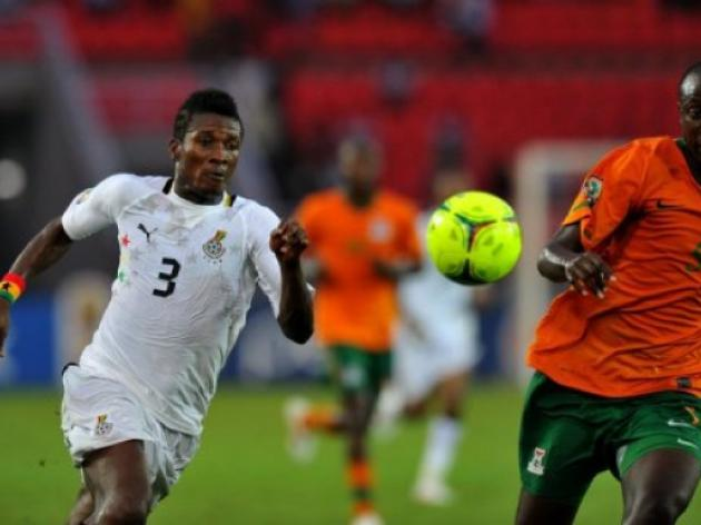 Gyan back for Ghana against China