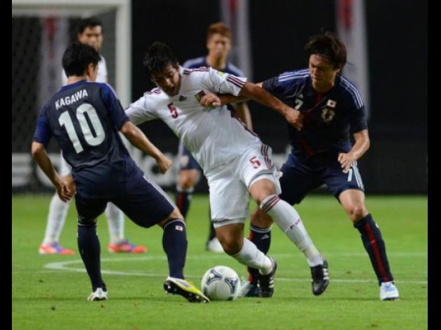 Japan held to a 1-1 draw by Venezuela in friendly