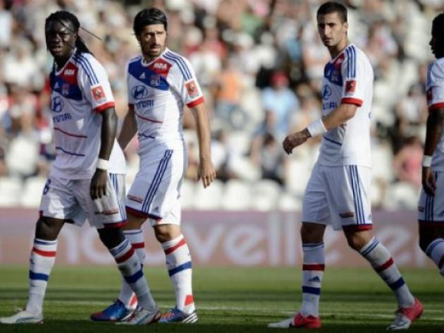 Lyon seek Evian tonic after Gourcuff injury blow