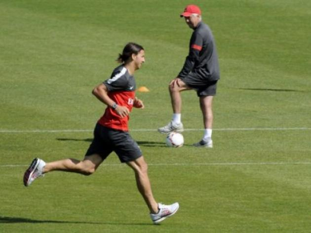 PSG coach Ancelotti embraces Ibra-dependence